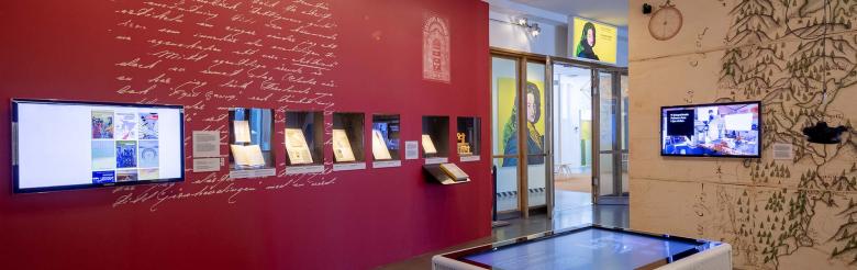 """Utställningen """"Digitala modeller"""" på Tekniska museet."""